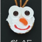 Frozen Olaf Inspired Cupcakes