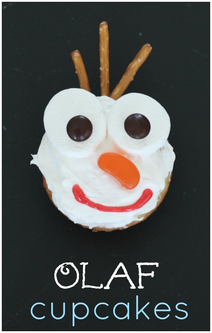 how to make an olaf cake easy