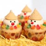 Snow Man Cupcakes Recipes (Cupcake Người Tuyết)