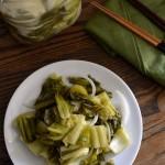 Dưa Chua Recipe – Vietnamese Pickled Mustard Greens
