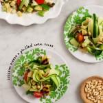 Zucchini & grilled corn salad