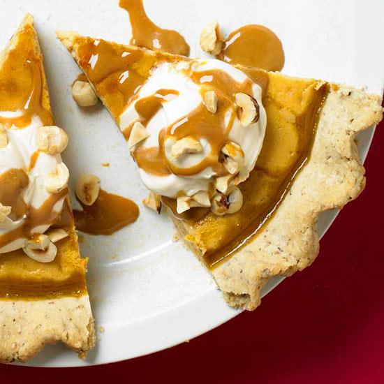 Pumpkin Icebox Pie Recipe — Dishmaps