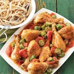 Easy Diabetic Recipes: Louisiana Chicken Drumsticks and Tomatoes