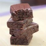 Healthy Chocolate Fudge Zucchini Brownies