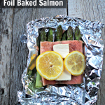 Foil Baked Salmon Recipe with Asparagus