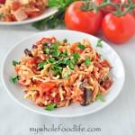 Crock Pot Spaghetti & Vegetables