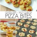 Quinoa Gluten Free Pizza Bites Recipe