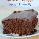 Wacky Cake – No Eggs, No Dairy, Moist, and Yummy! and Vegan Friendly