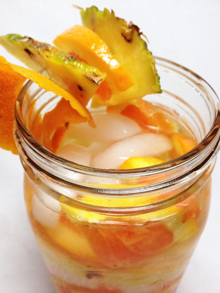 Pineapple-Orange-Fruit-Infused-Water