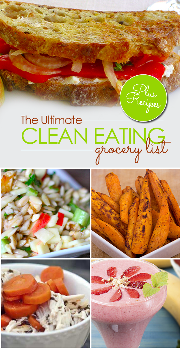 The ultimate clean eating grocery list 50 foods recipes for diabetes weight loss fitness - Foods never wash cooking ...