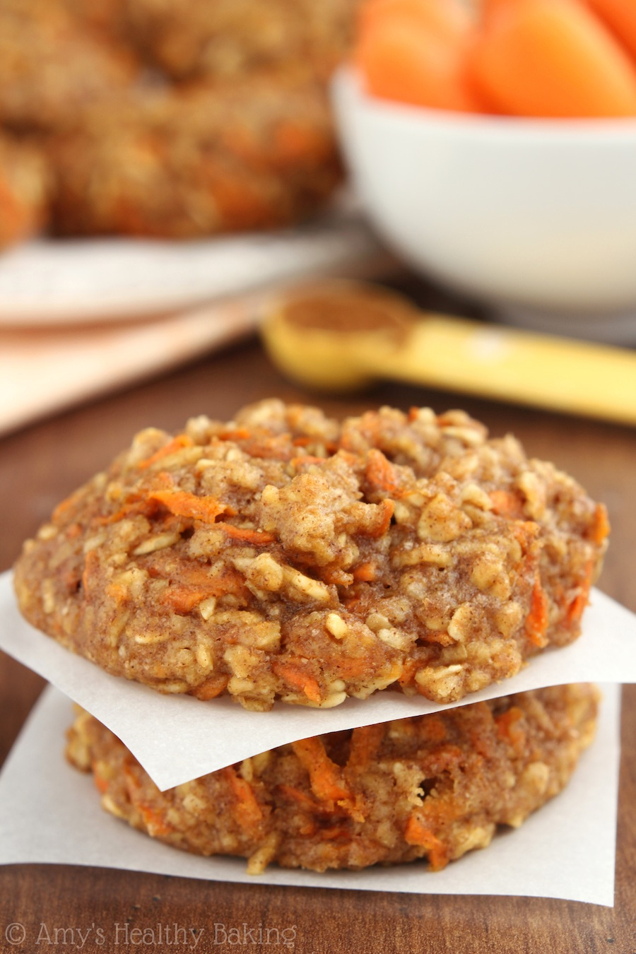 Carrot Cake Oatmeal Cookies - Recipes for Diabetes-Weight Loss-Fitness