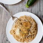 Dinner for Two: Fried Zucchini Pasta