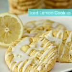 Iced Lemon Cake Mix Cookies Recipe