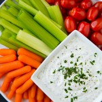 Lighter Greek Yogurt Ranch Dip