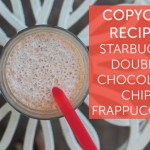 Copycat Recipe: Starbucks' Double Chocolaty Chip Frappuccino