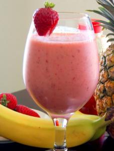 strawberry-smoohtie