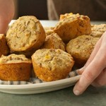 WHOLE WHEAT CORNBREAD MUFFINS