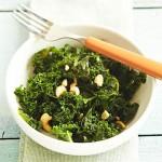Miso-Ginger Kale