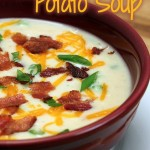 Baked (or Mashed) Potato Soup Recipe