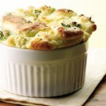 Low-Calorie Portion-Controlled – Broccoli & Goat Cheese Souffle