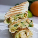 Quick and Easy Chicken and Avocado Burritos (Under 10 Minutes!) – Healthy Easy Chicken Burritos