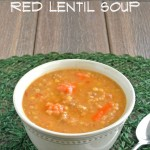 Slow Cooker Red Lentil Soup