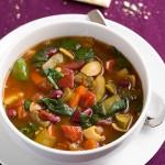 Olive Garden Minestrone Soup Copycat {Slow Cooker}