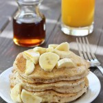 Heart-Healthy Fluffy Vegan Pancakes