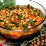 Kale Soup for the Crockpot – Vegetarian Recipe