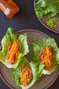 Vegan-Asian-Lettuce-Wraps-with-Sweet-Sriracha-Sauce-are-healthy-delicious-and-made-with-an-incredible-unique-filling-vegetarian-vegan-healthy-2