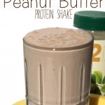 Skinny Chocolate Peanut Butter Protein Shake