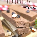 Healthy Nutella Fudge Protein Bars (sugar free, gluten free, dairy free, vegan)