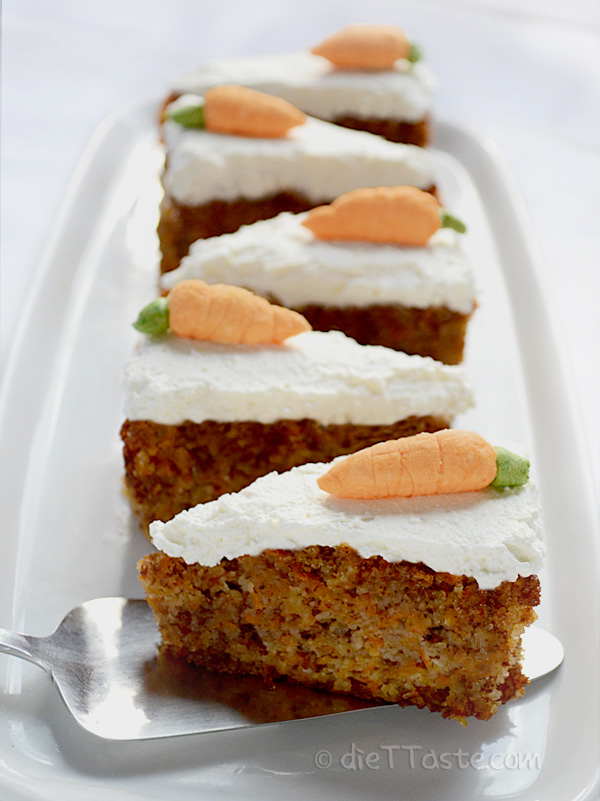Healthy Carrot Cake Recipe Without Eggs