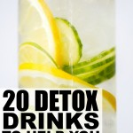 TOP 20 DETOX DRINKS TO HELP YOU LOSE WEIGHT